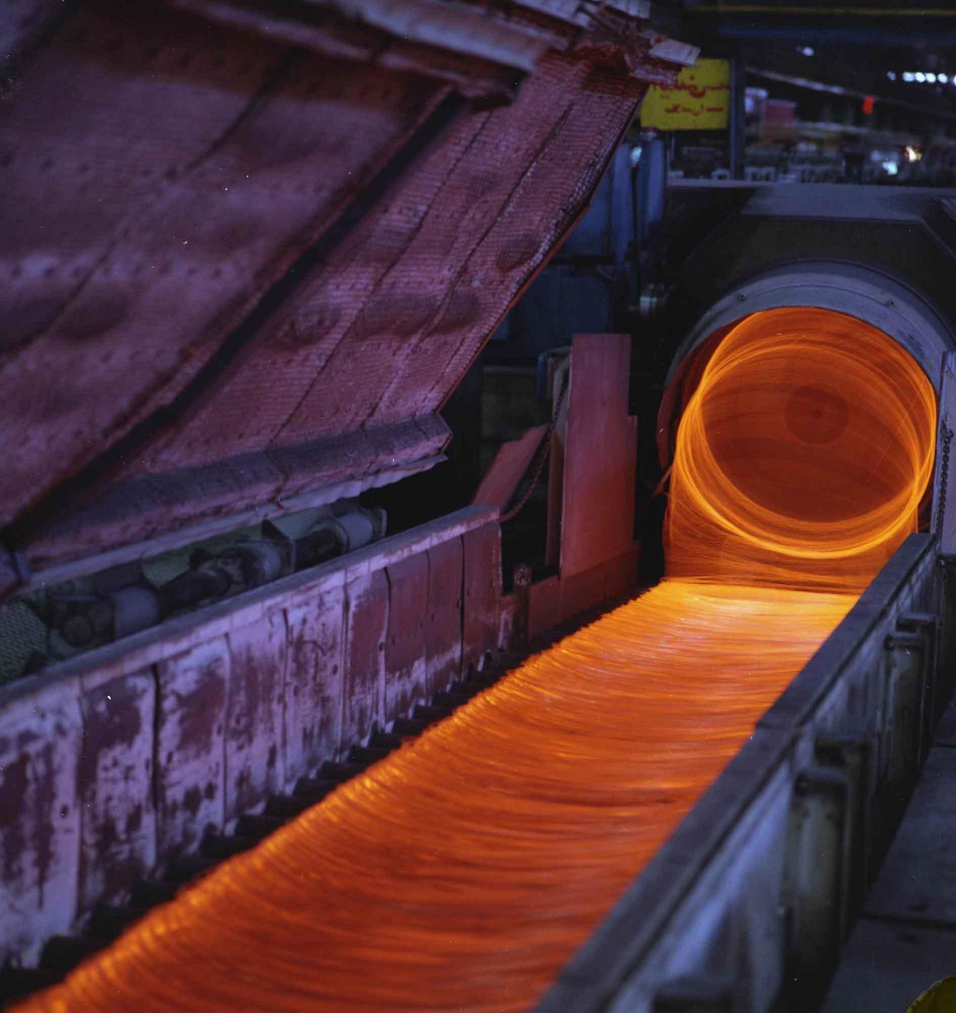 تولید میلگرد b500 در شرکت ذوب آهن اصفهان
