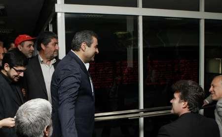 رییس سازمان بورس در تالار حافظ