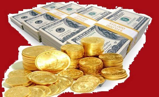 کاهش نرخ دلار و افت قیمت سکه
