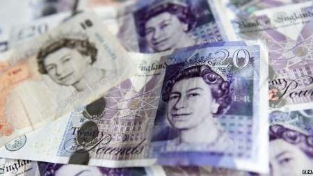 نرخ تورم در بریتانیا به زیر صفر رسید