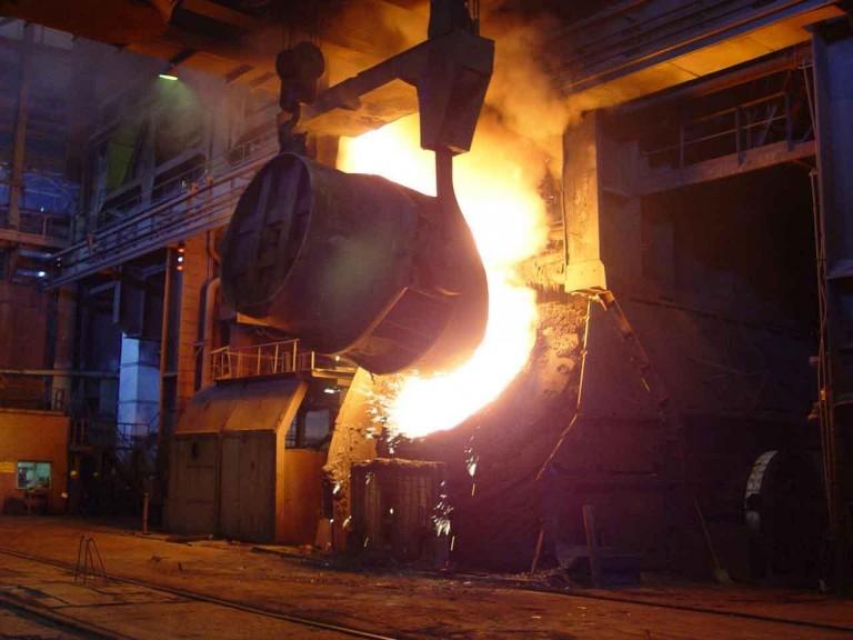 ثبت دو رکورد جدید در ناحیۀ فولادسازی و ریختهگری مداوم فولاد مبارکه