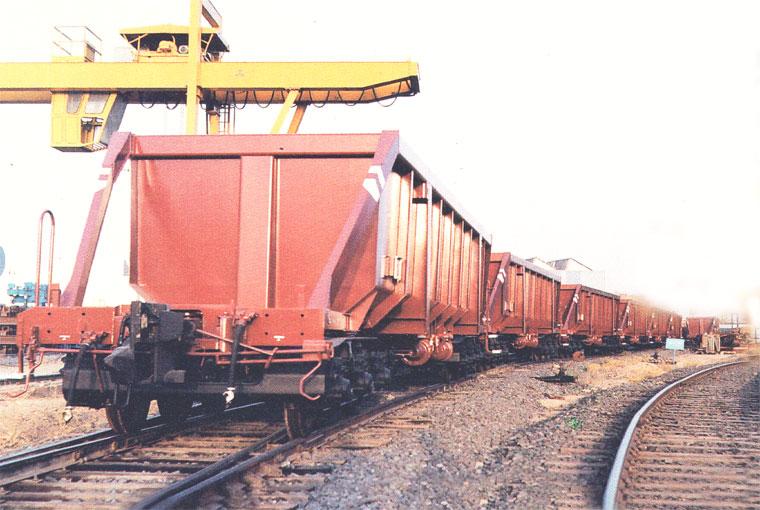 حمل ۶۰۰,۰۰۰ تن ذغالسنگ تا پایان سال با شبکه ریلی