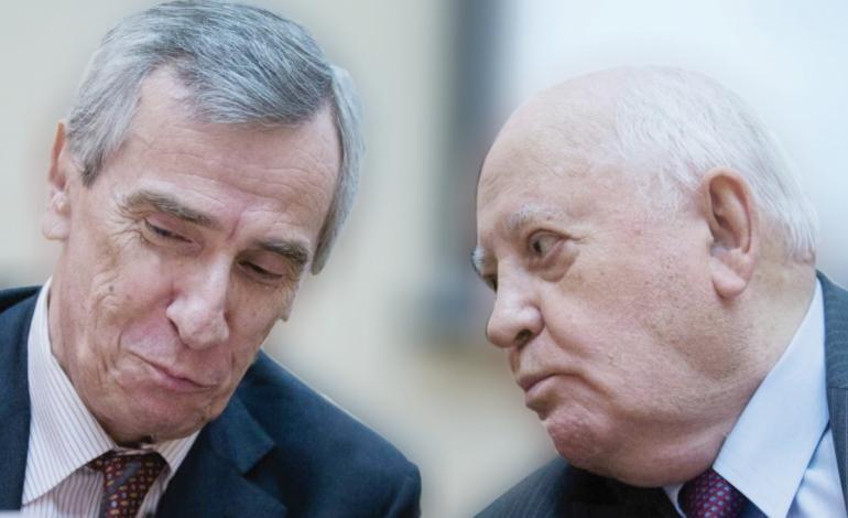 سخنگوی گورباچف سخنرانی منتسب به وی درباره ایران را تکذیب کرد