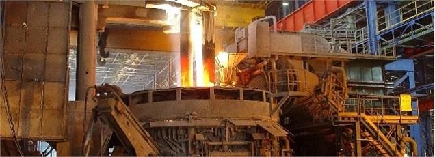 ایران بالاترین میزان تولید فولاد خام را در خاورمیانه طی سال 2014