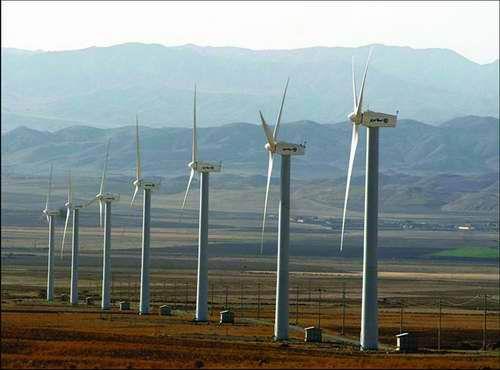 مشارکت دانمارکی ها در ساخت نیروگاه بادی