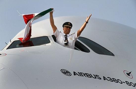 انجام نخستین پرواز هواپیمای ایر باس ۳۲۰